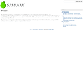 openwebfoundation.org