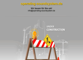 operating-soundsystem.de