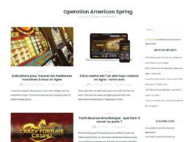 operationamericanspring.org
