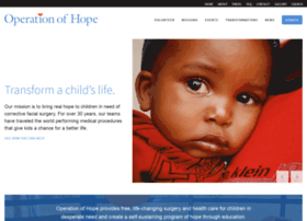 operationofhope.org