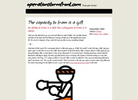 operationstormfront.com