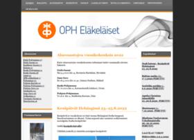 oph-elakelaiset.fi