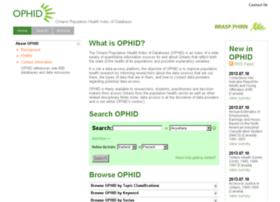 ophid.scholarsportal.info
