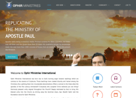 ophirministries.org