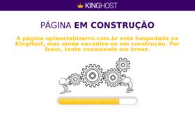 oplanetabizarro.com.br