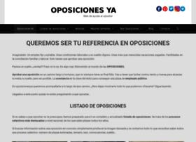 oposicionesya.com