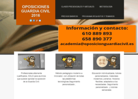 oposicionguardiacivil.es