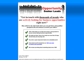 opportunity-seeker-leads.com