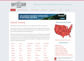 opticiantraining.org