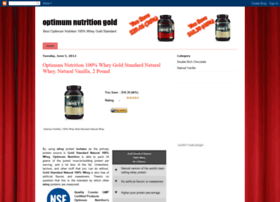 Optimum-nutrition-gold.blogspot.com