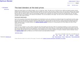 optimumblender.wikidot.com