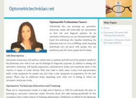 optometrictechnician.net