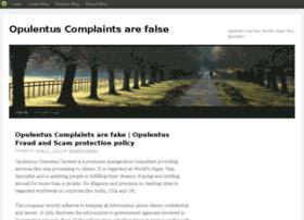 opulentuscomplaints.blog.com