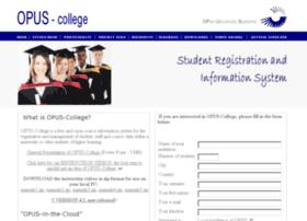 opus-college.net