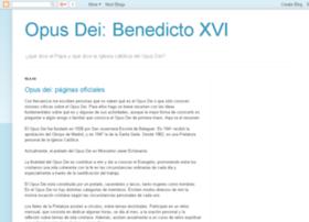 opusdei-benedictoxvi.blogspot.com