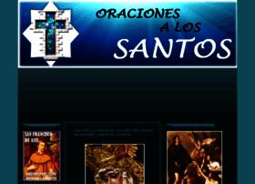 oracionesalossantos.com