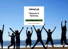 oracle.benevity.org