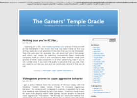 oracle.gamerstemple.com
