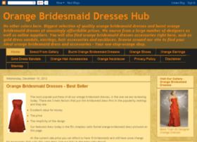 orangebridesmaiddresseshub.com