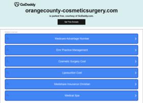 orangecounty-cosmeticsurgery.com
