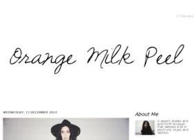 orangemilkpeel.com