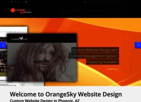 orangeskywebsites.com