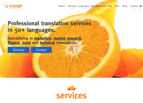 orangetranslations.com