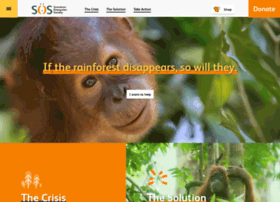 orangutans-sos.org