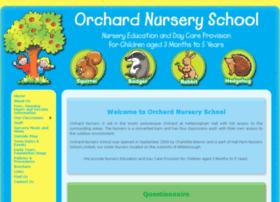 orchardnurseryschool.com