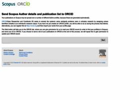 orcid.scopusfeedback.com
