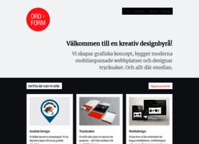 ord-form.se