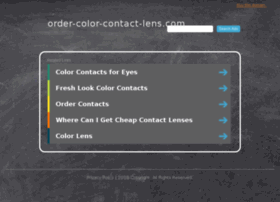 Order-color-contact-lens.com