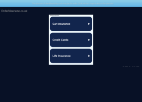 orderkleeneze.co.uk
