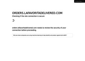orders.lafavoritadelivered.com