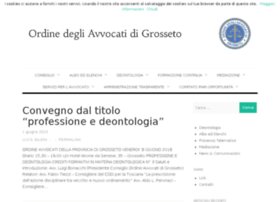 ordineavvocatigrosseto.com
