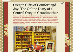 oregongiftsofcomfortandjoy.blogspot.com