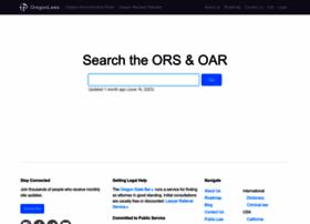oregonlaws.org