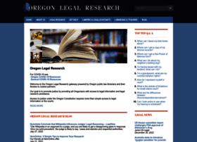 oregonlegalresearch.com