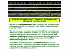 oregonwildflowers.net