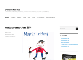 oreilletendue.com