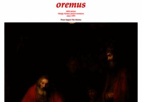 oremus.org