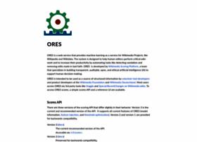 ores.wikimedia.org