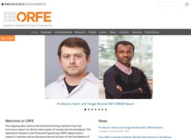 orfe.princeton.edu