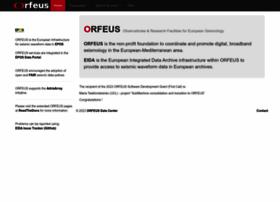 orfeus-eu.org