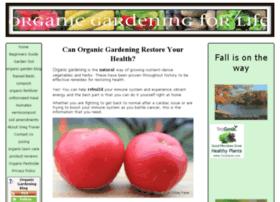 organic-gardening-for-life.com