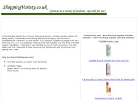organic-skincare.shoppingvariety.co.uk