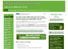 organic0800numbers.co.uk