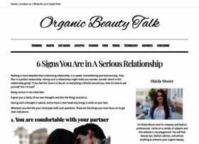organicbeautytalk.com