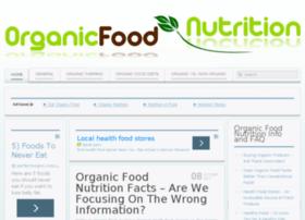 organicfoodnutrition.org