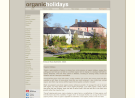 organicholidays.co.uk